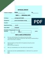 Appraisal Form.xlsx
