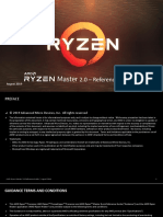 Ryzen Master Quick Reference Guide