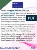 Electronics System Design & Manufacturing (ESDM)