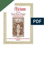Officium Parvum BMV
