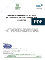 Manual de Operação - Silvester Tropclima