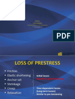 Prestress Losses