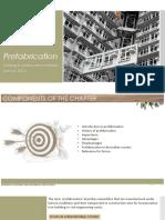 Prefabrification construction