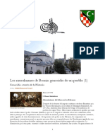Salahi Ramazan Sonyel - Los Musulmanes de Bosnia - Genocidio de Un Pueblo