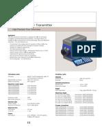 Alfa Laval Flow Transmitter Product Leaflet