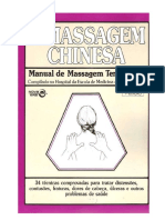 A Massagem Chinesa Manual de Massagem Terapeutica