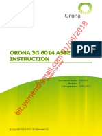Orona 3g 6014 Assemply Instruction