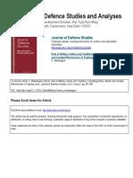 Microsoft Word - Journal of Defence Studies