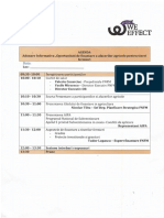 Agenda Adunarilor Informative