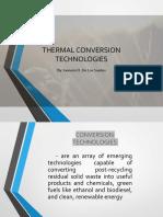 Thermal Processing of Municipal Solid Wastes