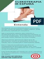 Pós escleroterapia com espuma - Dr. ALEXANDRE AMATO