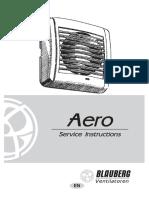 Blauberg Aero Vartotojo Instrukcija ENG