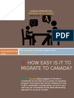 Canada Immigration - WH Questions and Answers Help you Immigrate to Canada