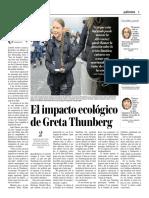 El Impacto Ecológico de Greta Thunberg