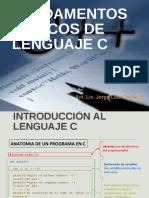 FUNDAMENTOS DE LENGUAJE C