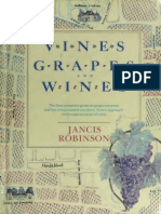 Vine, grapes and wines