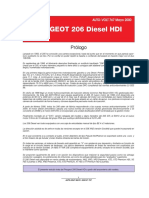 ✠ PEUGEOT 206  DIESEL HDI 2000