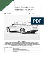 Installazione Sensori Di Parcheggio Alfa Romeo 159 SW
