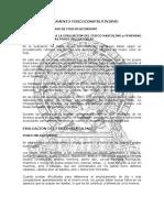 REGLAMENTO Y NORMAS DE FISICOCULTURISMO