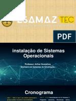 Aula 2 - Sistemas Operacionais Existentes, Históricos e Criadores