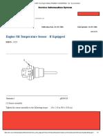 Engine Oil Temperature Sensor - If Equipped