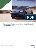 Ford Ranger Body Equipment Manual