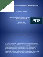 Francisco X. Geraldes-Hábitats Costeros Marinos en el Parque Nacional del Este (1).ppt