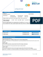 Detail Design Checklist