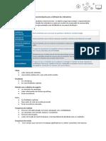 FGV - Recomendações Para a Definição Dos Indicadores