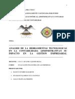 Analisis de Las Herramientas-tecnologicas- e Impacto en La Gestion Ambiental