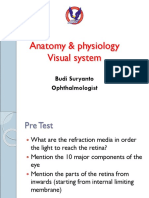 4. Anatomy Physiology Visual system April 2014.ppt