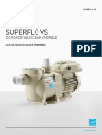 SuperFlo vs Variable Speed Pump Brochure SP