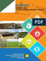 Pedoman Teknis Cetak Sawah Pola Swakelola Tahun 2018.pdf