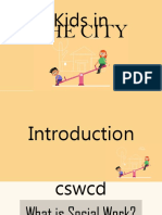 A study of children in the city & how to help them