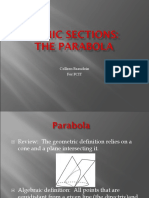 Conic Sections Parabolas FCIT compat.ppt