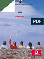 Vodafone Gartners Model