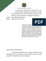 ARGUIÇÃO DE DESCUMPRIMENTO DE PRECEITO FUNDAMENTAL No 600