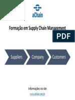 Formação em Supply Chain Management. Inscrições