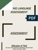 Second Language Assessment