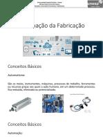 Automação Da Fabricação (Aula 1)