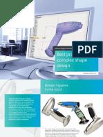 Siemens SW Best Practice in Complex Shape Design
