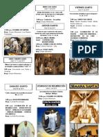 Programa de Semana Santa Bombay 1