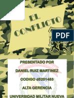 El Conflicto Daniel Ruiz