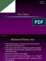 AVL Tree Operations