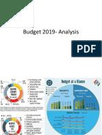 Budget 2019- Analysis