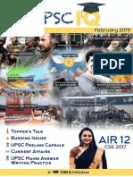 UPSC IQ February 2019 English Magazine