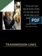 Transmission Lines Converted