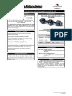 MERITOR_DIRONA Guía Rápida Refacciones Eje Sencillo Serie 22