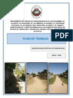Plan de Trabajo- Aa.hh. Marcos Rios Pinedo