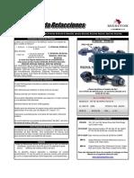 MERITOR Guía Rápida Refacciones Ejes Tandem Serie 160 0